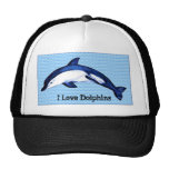 Amo delfínes gorra