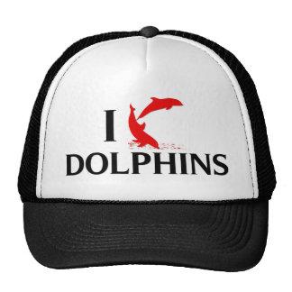 Amo delfínes gorras de camionero