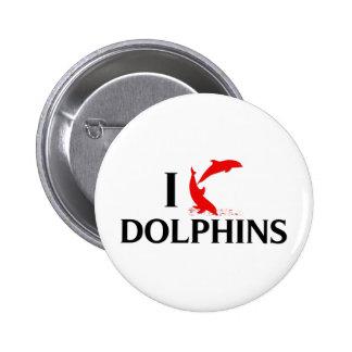 Amo delfínes pins