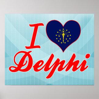Amo Delphi Indiana Poster