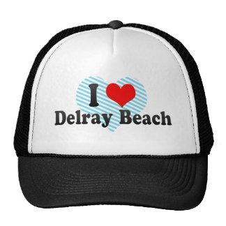 Amo Delray Beach, Estados Unidos Gorros