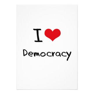Amo democracia anuncio