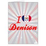 Amo Denison, Iowa Felicitaciones