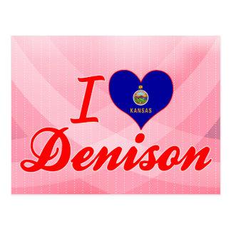 Amo Denison Kansas Postales
