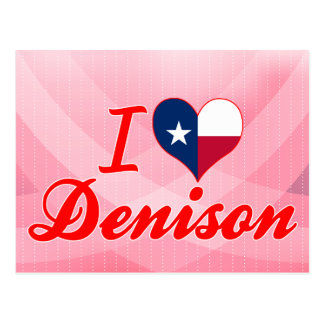 Amo Denison Tejas Postales