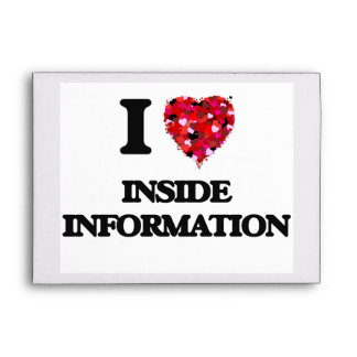 Amo dentro de la información sobres