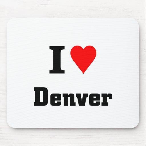 Amo Denver Alfombrilla De Ratones