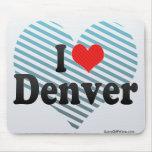 Amo Denver Alfombrillas De Ratón