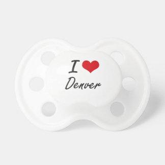 Amo Denver Chupetes De Bebe
