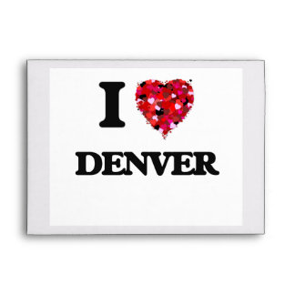 Amo Denver Colorado Sobres