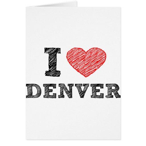 Amo Denver Felicitación