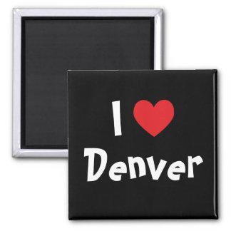 Amo Denver Imán Cuadrado