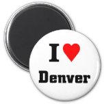 Amo Denver Imán De Nevera