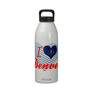 Amo Denver Indiana Botella De Beber