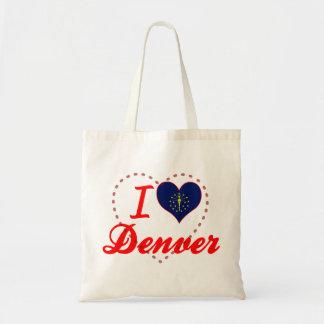 Amo Denver Indiana Bolsa De Mano