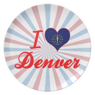 Amo Denver Indiana Plato Para Fiesta