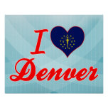 Amo Denver, Indiana Poster