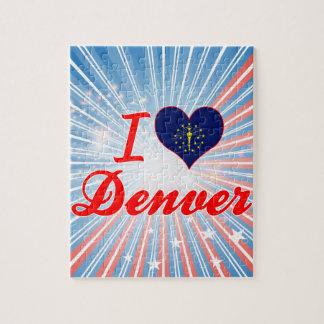 Amo Denver Indiana Rompecabezas Con Fotos