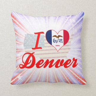 Amo Denver, Iowa Almohadas