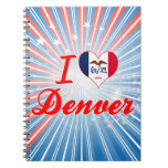 Amo Denver, Iowa Cuaderno