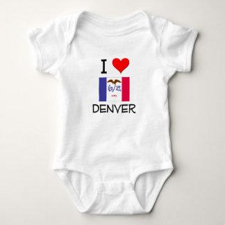Amo DENVER Iowa Mameluco De Bebé