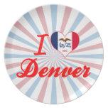 Amo Denver, Iowa Plato De Cena