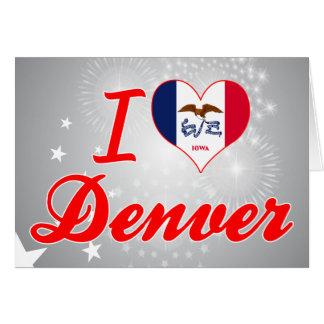 Amo Denver, Iowa Tarjetas