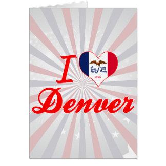 Amo Denver, Iowa Tarjetón