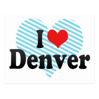Amo Denver Postales