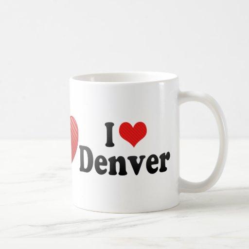 Amo Denver Tazas