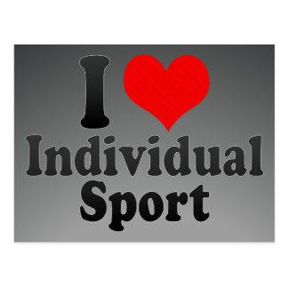 Amo deporte individual postal