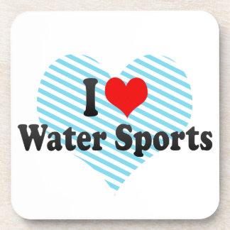 Amo deportes acuáticos posavaso