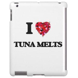 Amo derretimientos del atún funda para iPad