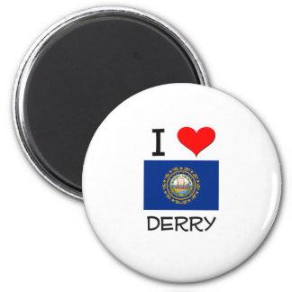 Amo Derry New Hampshire Imán Para Frigorifico