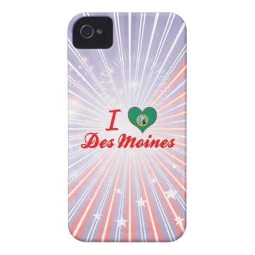 Amo Des Moines, Washington iPhone 4 Carcasas