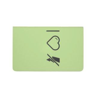 Amo desconexiones de destello cuadernos grapados