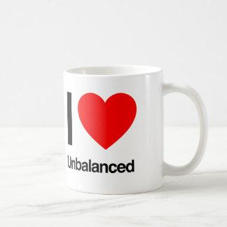 amo desequilibrado taza