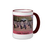 Amo desfiles tazas de café
