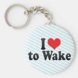 Amo despertar llavero personalizado