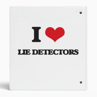 """Amo detectores de mentira carpeta 1"""""""