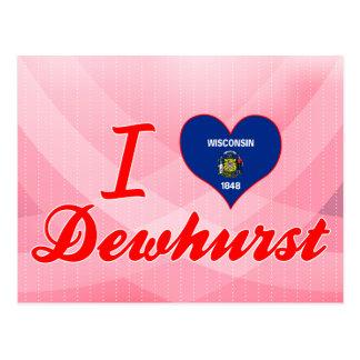Amo Dewhurst, Wisconsin Tarjetas Postales