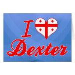 Amo Dexter, Georgia Felicitación