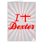 Amo Dexter, Georgia Tarjeta