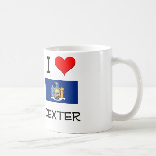 Amo Dexter Nueva York Tazas De Café