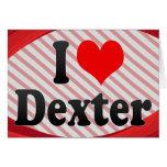 Amo Dexter Tarjeta Pequeña