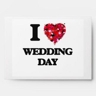 Amo día de boda sobre