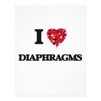 "Amo diafragmas folleto 8.5"" x 11"""