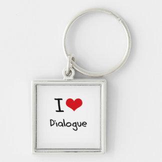 Amo diálogo llavero