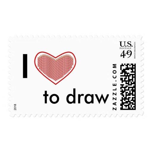 Amo dibujar sellos