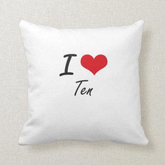 Amo diez almohadas